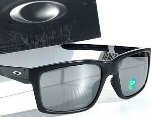 a30c6feecae New  OAKLEY MAINLINK Matte BLACK w POLARIZED Iridium Lens Sunglass ...