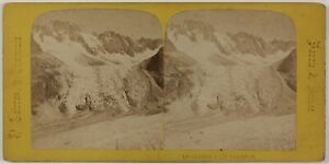 Il-Giardino-amp-Talefre-Chamonix-Francia-Foto-Stereo-PL28Th1n21-Vintage-Albumina