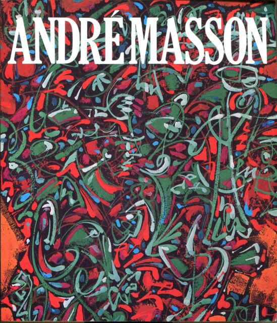 Andre Masson by William Stanley Rubin & Carolyn Lanchner-1st Printing-1976