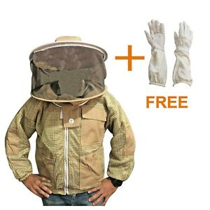 Beekeeper Hat Khaki Details About Jacket Beekeeping Round Veil yNvmn0wP8O