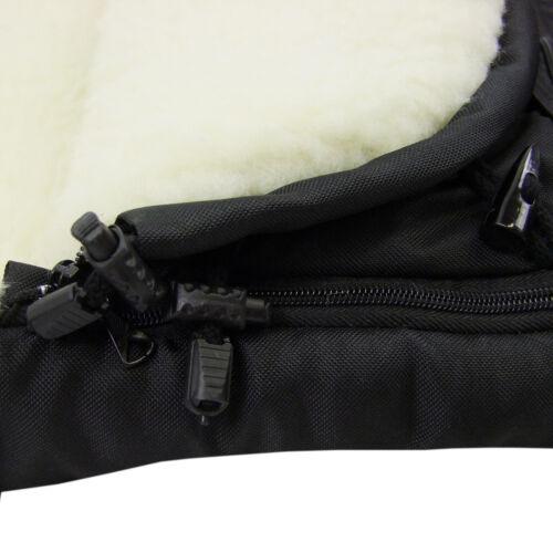 Rawstyle 3 in 1 Winterfußsack aus LAMMWOLLE 110cm /& 85cm *EULEN* Neu