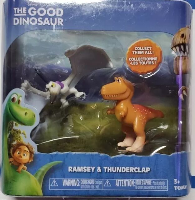 Disney The Good Dinosaur Arlo /& Forrest Woodbrush Mini Figure 2-Pack