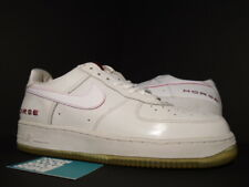 83a2f1ab533b item 2 2002 NIKE AIR FORCE 1 YEAR OF THE HORSE YOTH WHITE RED SILVER GREY  624040-115 11 -2002 NIKE AIR FORCE 1 YEAR OF THE HORSE YOTH WHITE RED  SILVER GREY ...