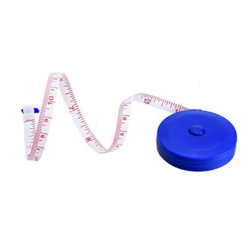 3 x Cintas de medición 150cm Longitud-Retráctil 3 Colores Total