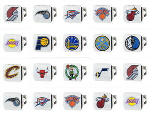 NBA-Truck-Chrome-3-D-Color-Hitch-Covers-HD-Metal-Choose-Team