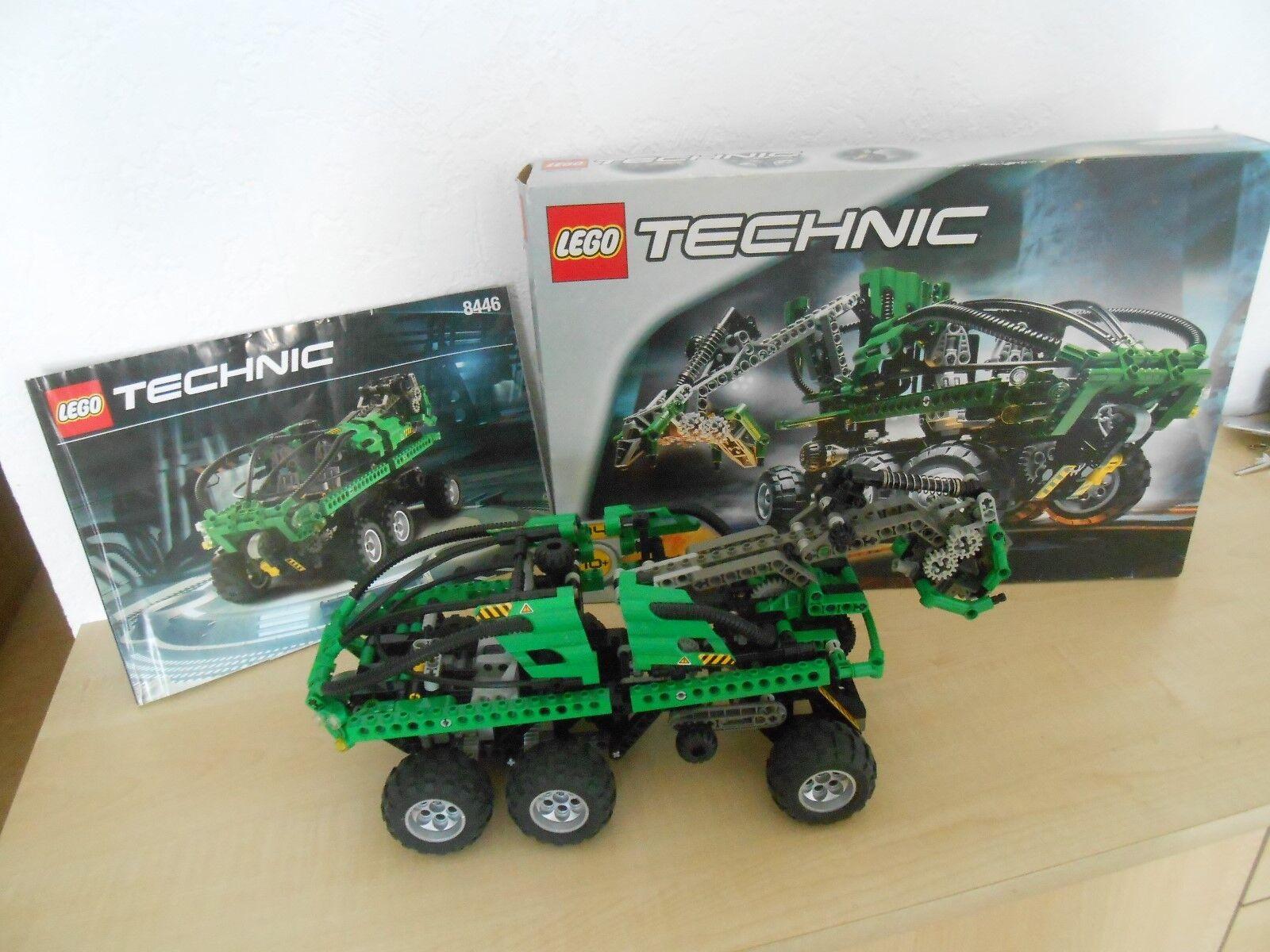 Lego Technic Crane Truck 8446 m. Bauplan u. Karton