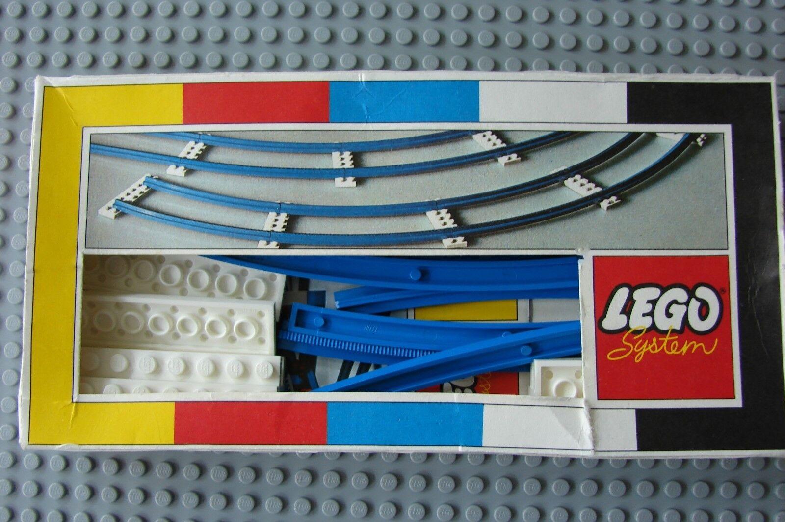 Nuevo Lego 151 Curva Tren Track 1966' Raro pendiente de Pat.