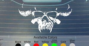 DANZIG-Vinyl-Decal-Sticker-Custom-Taille-couleur-Blanc-Zombie-Black-Sabbath-Kyuss