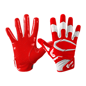 Cutters s451 Rev Pro 2.0 Football Receiver Gloves ADULT XXL Red//White