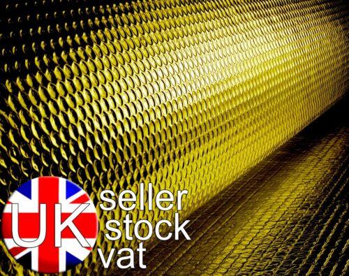 Solar Bay ISOLATO ORO Pluriball Rotoli imballaggio 6 taglie disponibili 24//37.5m2