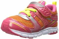 Tsukihosi Coralm Lightweight Soft Non-tie Sneakers Youth Girls Size 6