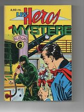 Les Héros du Mystère. Album n°6 (n°16, 17, 18). Remparts 1968. TBE