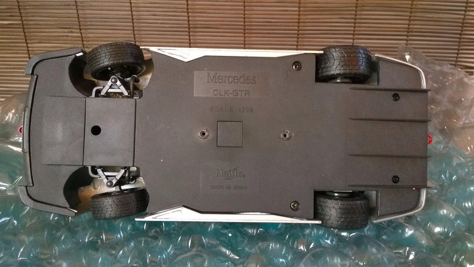 Mercedes CLK-GTR CLK-GTR CLK-GTR 1997  - Modellauto 1 18 Maisto in OVP 48457e
