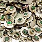 60 real Jeweled COINS Tribal BellyDance Kuchi Tribe - GREEN Color
