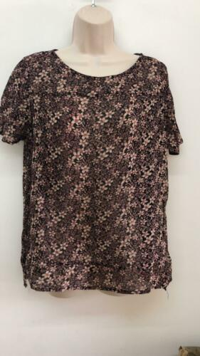 NEW RRP £30 Next Womens Floral Top SS:32