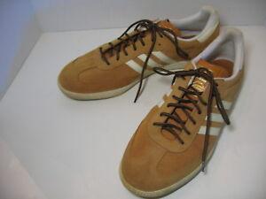 58d5c05cf Details about ADIDAS SAMBA ORIGINALS Men Spice Ecru Trainers Suede Shoes US  Size Mens 13 NICE