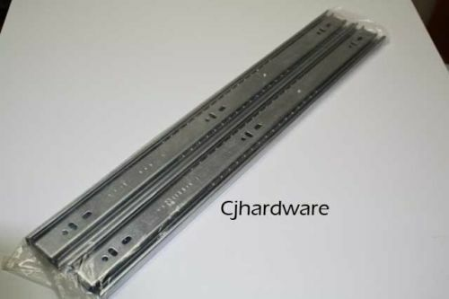 PAIRSET BALL BEARING DRAWER RUNNER 400mm SLIDES HEAVY DUTY FULL EXTENSION