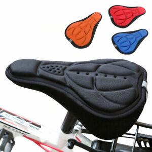 Copri-sella-sellino-bici-imbottito-traspirante-bicicletta-spugna-ammortizzante