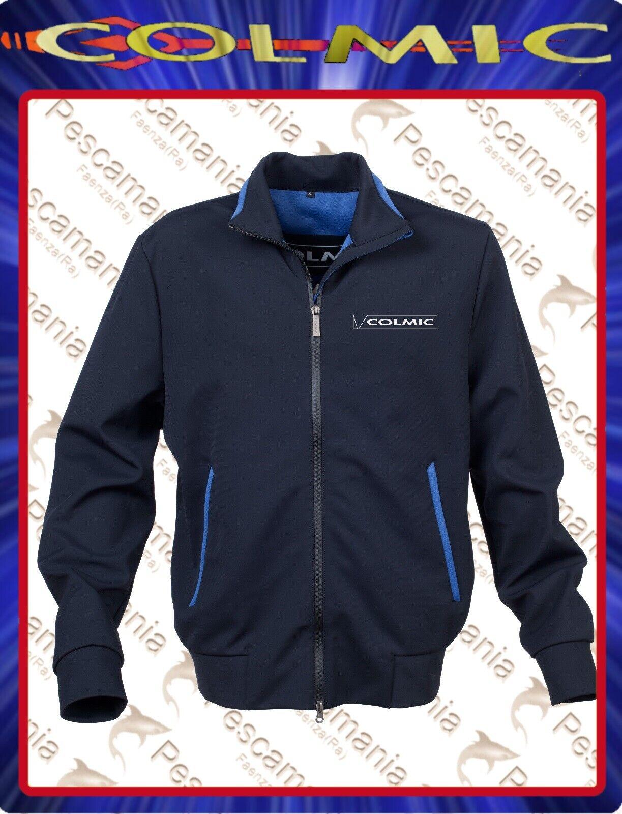 Giacca Colmic Soft shell bluazzurra confortevole impermeabile traspirante