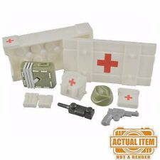 Brickforge MEDICAL SUPPLIES Accessory Pack for Lego Minifigures WW2 NEW