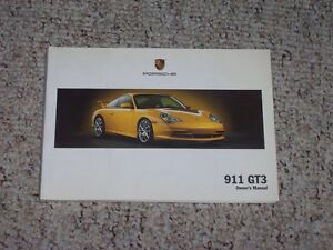 2004-Porsche-911GT3-911-GT3-Owner-User-Manual-Coupe-RS-3-6L-996