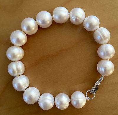 B27 echte  Süßwasser Perlen Schmuck Perlenarmbänder Armschmuck Armbänder Collier