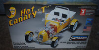 Lindberg Hot Canary T Car Model 1/8th Scale Ford Licensed Hot Rod & Sealed