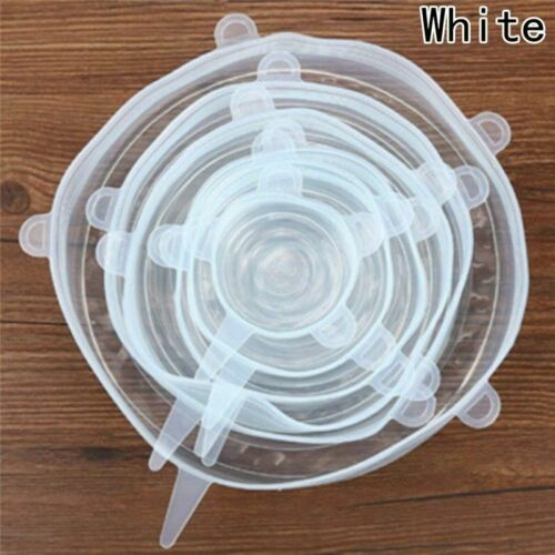 Multi Size Stretchable Bowl Covers 12x//set Silicone Stretch Lids Suction Lid