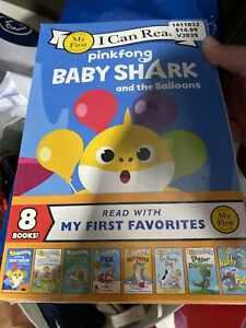 Baby Shark and the Balloons 8 Book Set (My First I Can Read) [Paperback]
