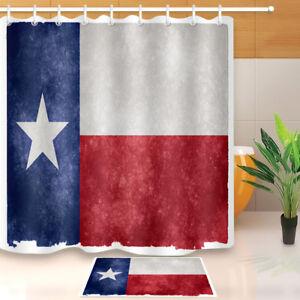 Image Is Loading Western Texas Star Flag 71X71 034 Bath Shower