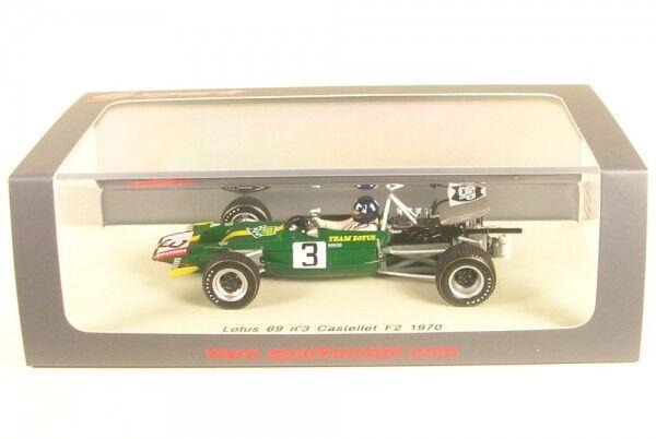 Lotus 69 F2 No.3 Castellet F2 1970 (Graham Hill) Hill) Hill) 490f7f
