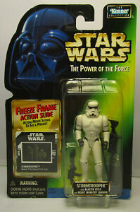 1997 Kenner Star Wars Stormtrooper - POTF 2 Freeze Frame New & Sealed Figure MOC