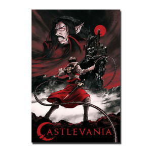 Castlevania-Anime-Wall-Art-Silk-Fabric-Poster-Print-12x18-24x36-inch