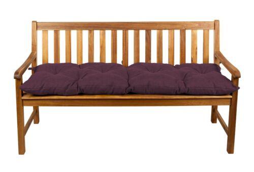 Banco tirada silla almohada columpio de jardín banco cojín cojines de asiento//ancho 40