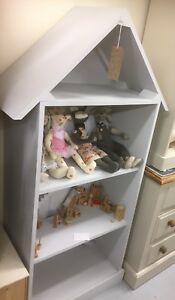Image Is Loading Dolls House Bookcase Toy Storage For Kids Bedroom