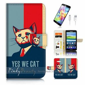For-Samsung-Grand-Prime-Wallet-Case-Cover-P1627-Yes-We-Cat