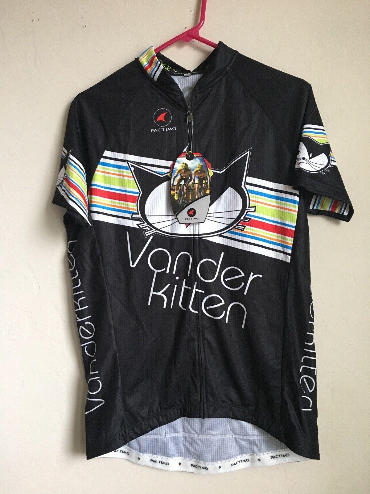 NEW Pactimo Vander Kitten Radfahren Jersey daSie Tri Tank Jersey XXL