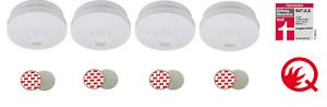4x-BRENNENSTUHL-RML-3100-10J-Batterie-Rauchmelder-Testsieger-Magnethalter-VDS