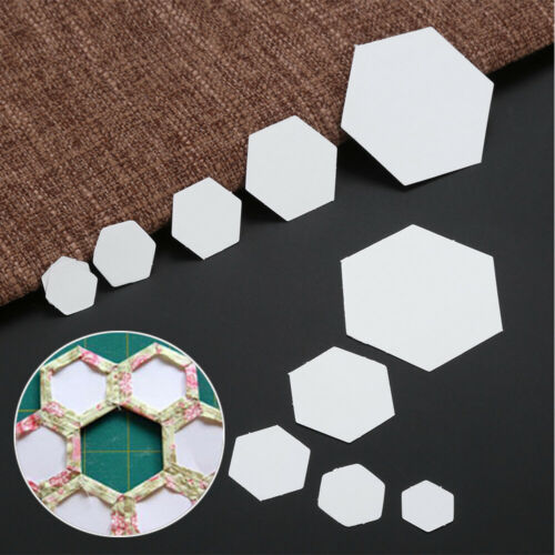 Sewing Accessories Patchwork Paper Hexagon Templates Garment Fabric Quilting