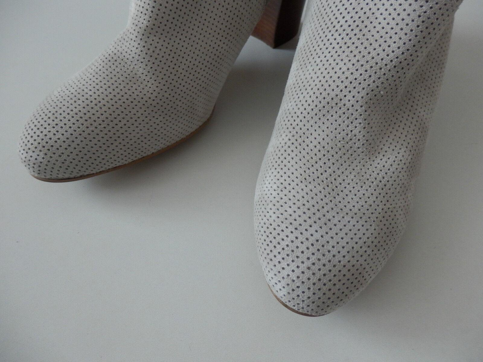 Alba Alba Alba Moda Stiefelette Leder beige Gr. 41 neu 9d2832