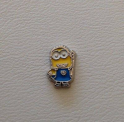 Lil Yellow Man Charms for Glass Floating Memory Lockets #210