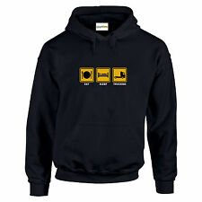 I Don/'t Snore Mens Funny Lorry Driver Hoodie Truck Scania Long Distance Van Top