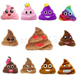 35cm-Poop-Poo-Family-Emoji-Emoticon-Pillow-Plush-Toys-Soft-Cushion-Doll-New