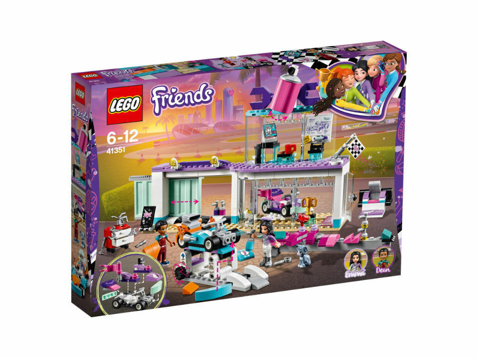 LEGO Friends Tuning Werkstatt (41351)