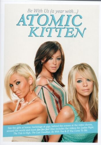 1 of 1 - Atomic Kitten - Be With Us (A Year With Atomic Kitten) DVD