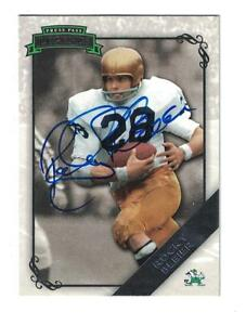 67ea53217e9 Image is loading Rocky-Bleier-AUTOGRAPH-NOTRE-DAME-FOOTBALL-CARD-SIGNED
