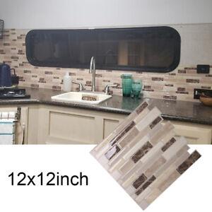 Dettagli su 3D Muro Adesivo per Piastrella Mattone Autoadesivo Mosaico  Cucina Bagno Casa