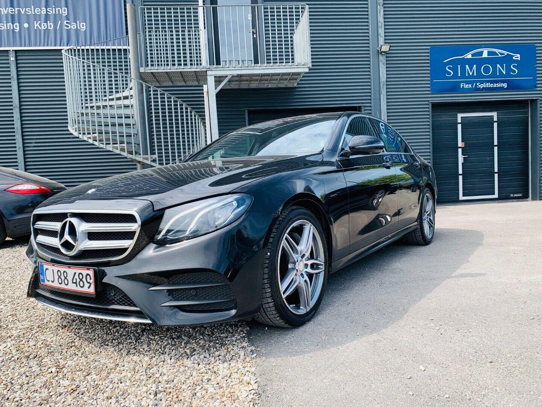 Mercedes E200 2,0 AMG Line aut. 4d - 3.800 kr.