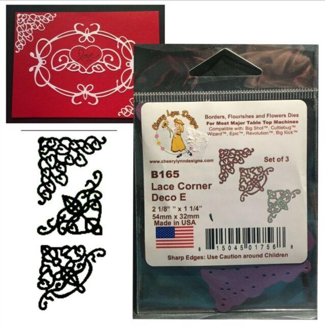 Cheery Lynn Designs Fs171 Delicate Lace Script Die Cut For Sale Online Ebay