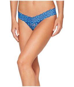 a0e7d82e8 Hanky Panky Cross Dyed Low Rise Thong Panty Blue - Women s ...